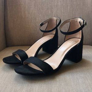 A New Day Black Heels 7.5 only worn once!
